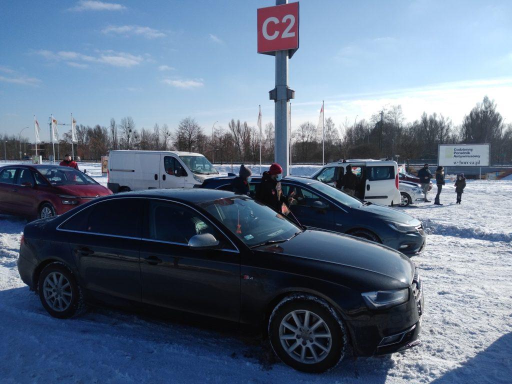 Samochodowa Parada Serc na rzecz częstochowskiego sztabu WOŚP 2