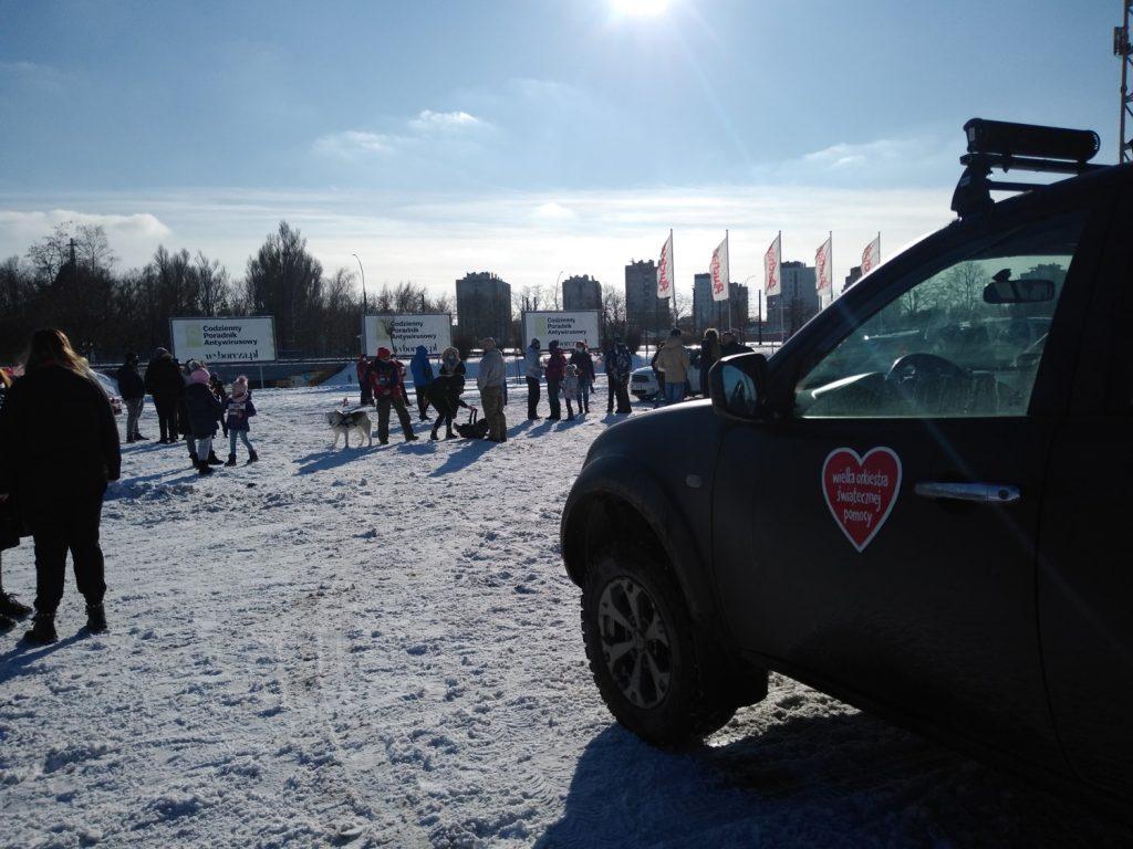 Samochodowa Parada Serc na rzecz częstochowskiego sztabu WOŚP 3