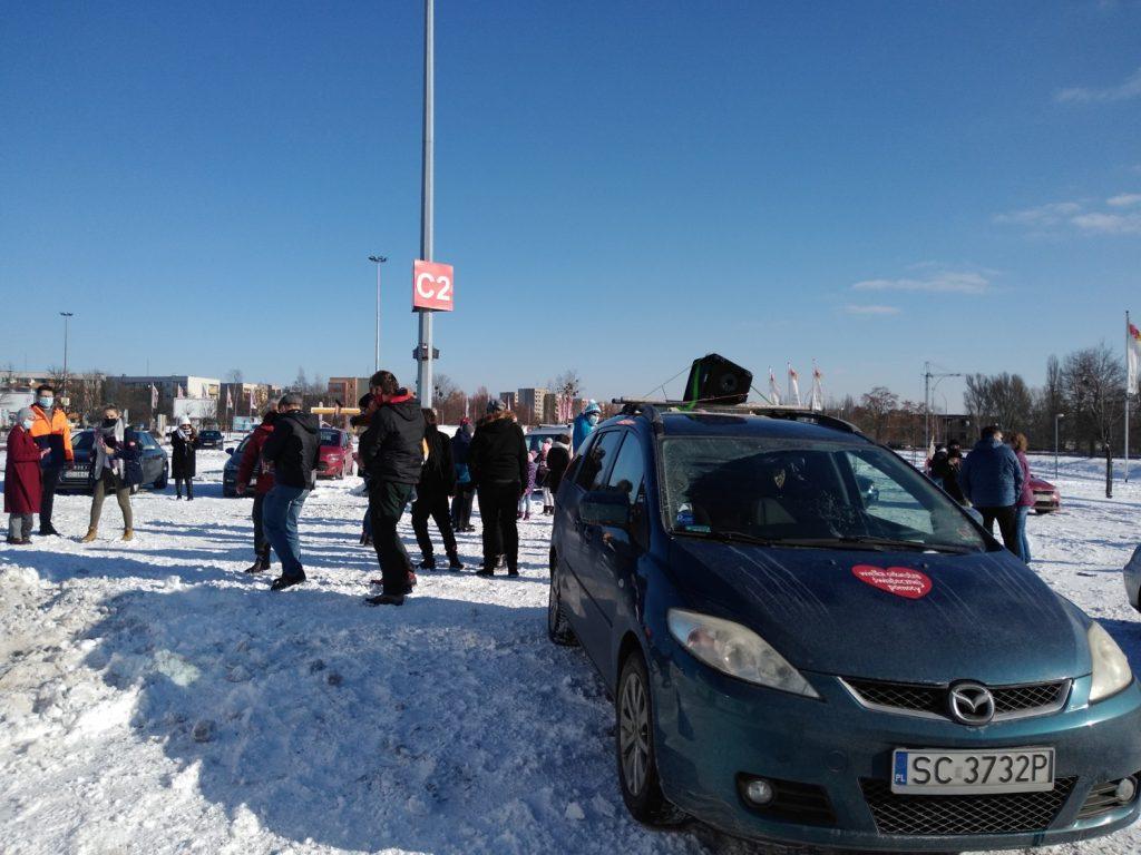 Samochodowa Parada Serc na rzecz częstochowskiego sztabu WOŚP 4