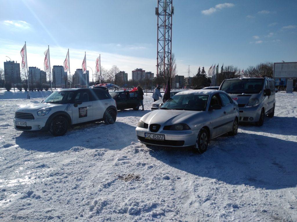 Samochodowa Parada Serc na rzecz częstochowskiego sztabu WOŚP 8