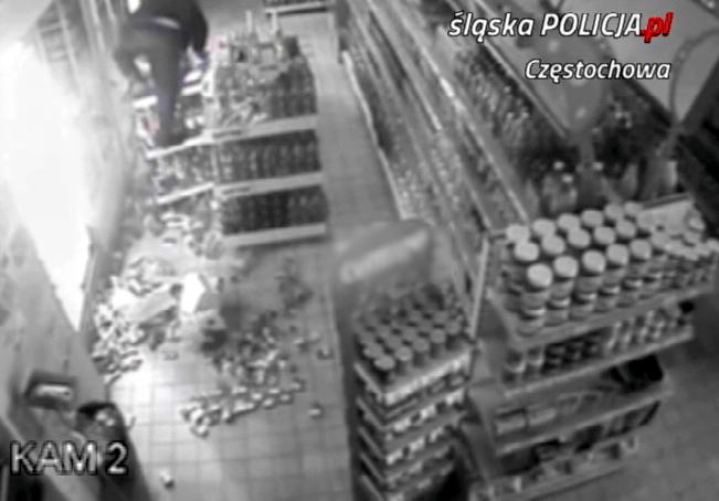 Uciekał przez okno po włamaniu, wpadł w ręce częstochowskich policjantów 2