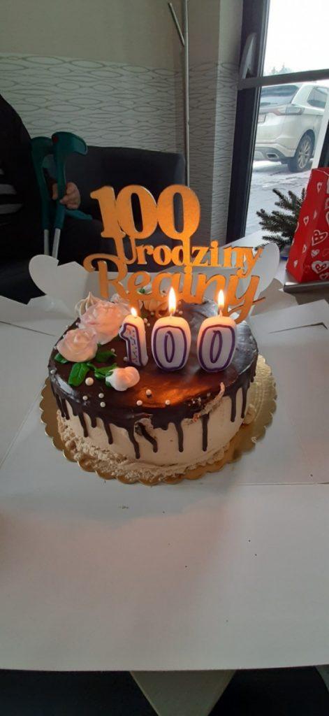 Najlepszego Pani Regino i kolejnych 100 lat! 1