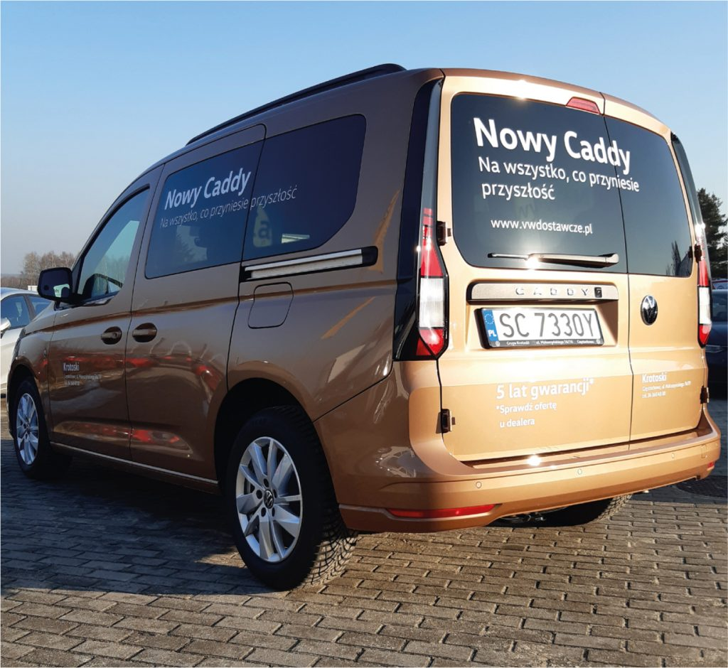Nowy VW Caddy, samochód do zadań specjalnych 2