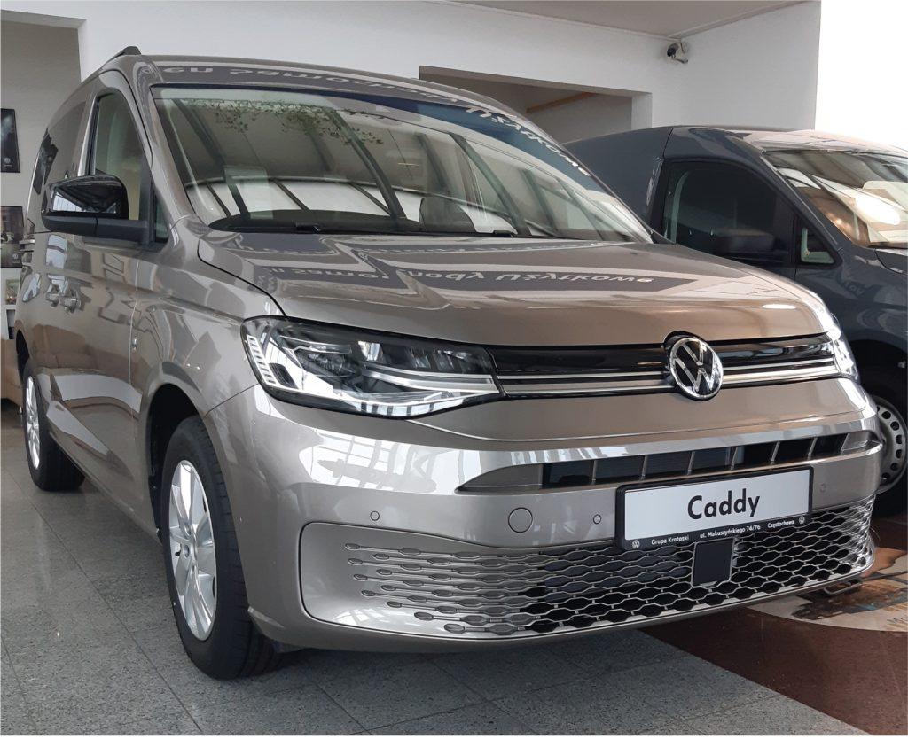 Nowy VW Caddy, samochód do zadań specjalnych 3