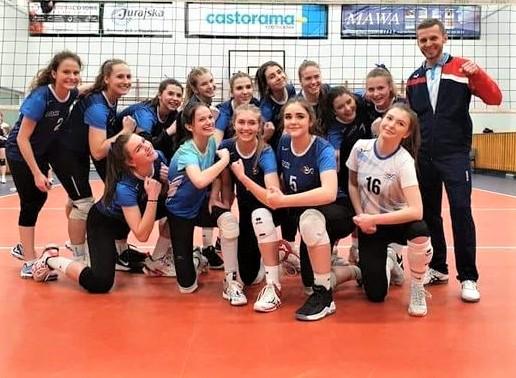 Kadetki Częstochowianki awansowały do turnieju finałowego i zagrają o medale w województwie 2