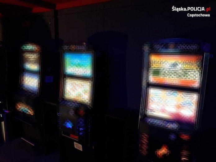 Kolejne nielegalne automaty do gier wykryte przez częstochowską policję 5