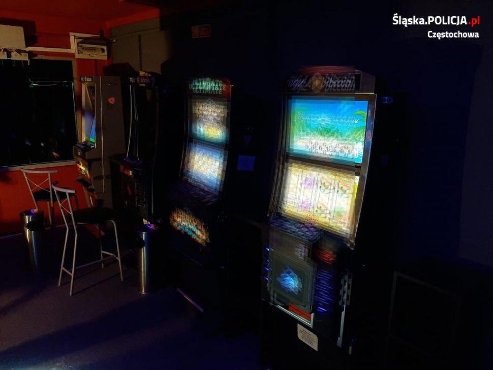 Kolejne nielegalne automaty do gier wykryte przez częstochowską policję 2