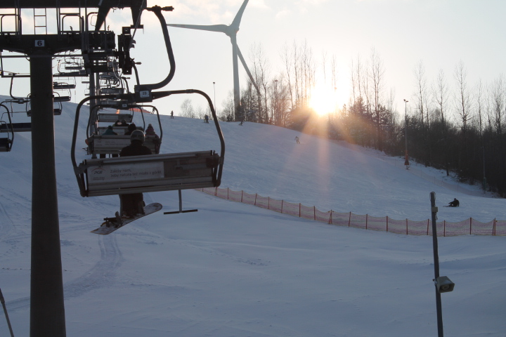 Pogoda dopisuje, przed nami weekend, więc może na narty? 7