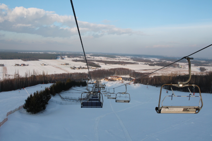Pogoda dopisuje, przed nami weekend, więc może na narty? 8