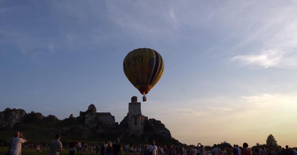 balony w Olsztynie