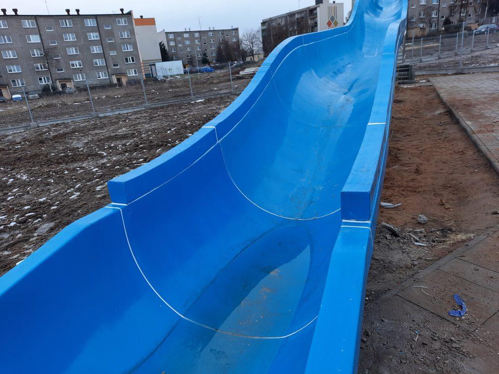 Poważne wady budowlane powodem braku odbioru końcowego basenu w Radomsku. 55
