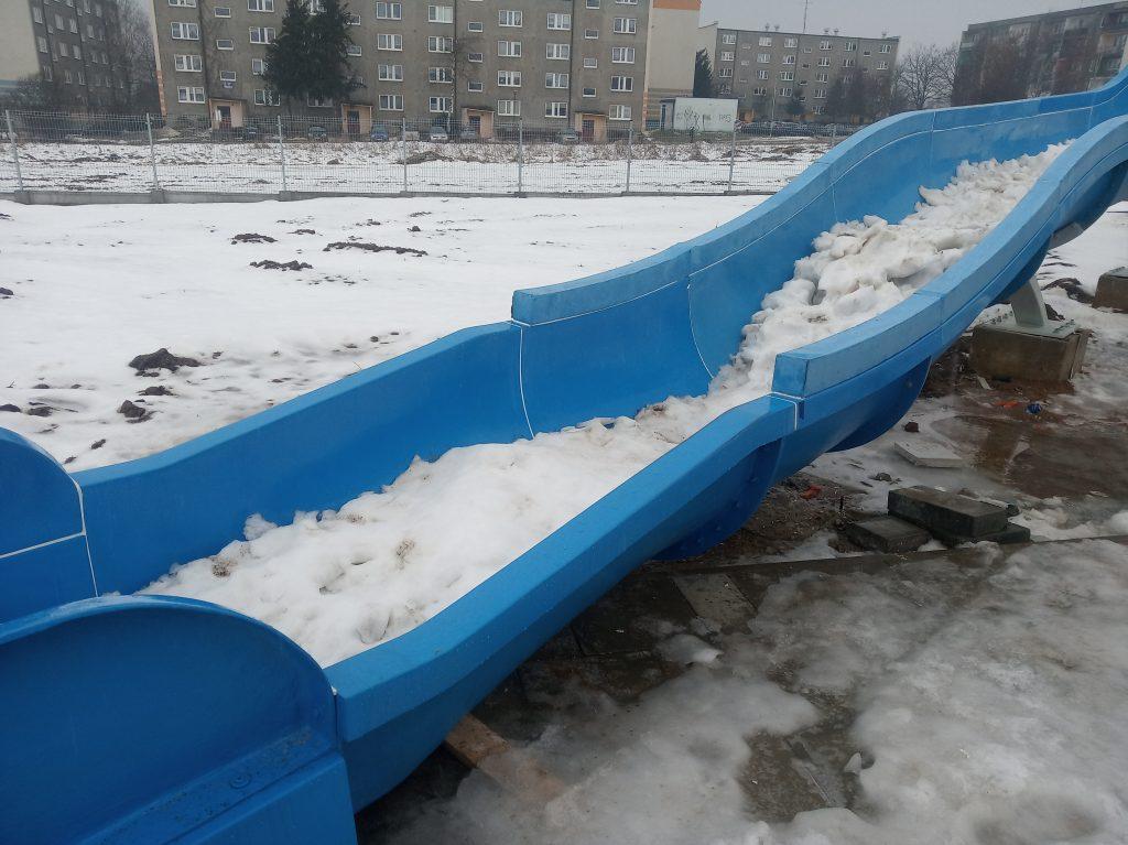 Poważne wady budowlane powodem braku odbioru końcowego basenu w Radomsku. 7
