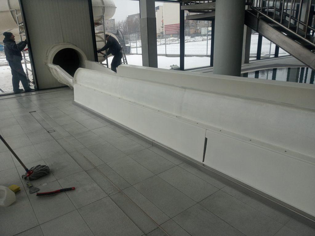 Poważne wady budowlane powodem braku odbioru końcowego basenu w Radomsku. 33