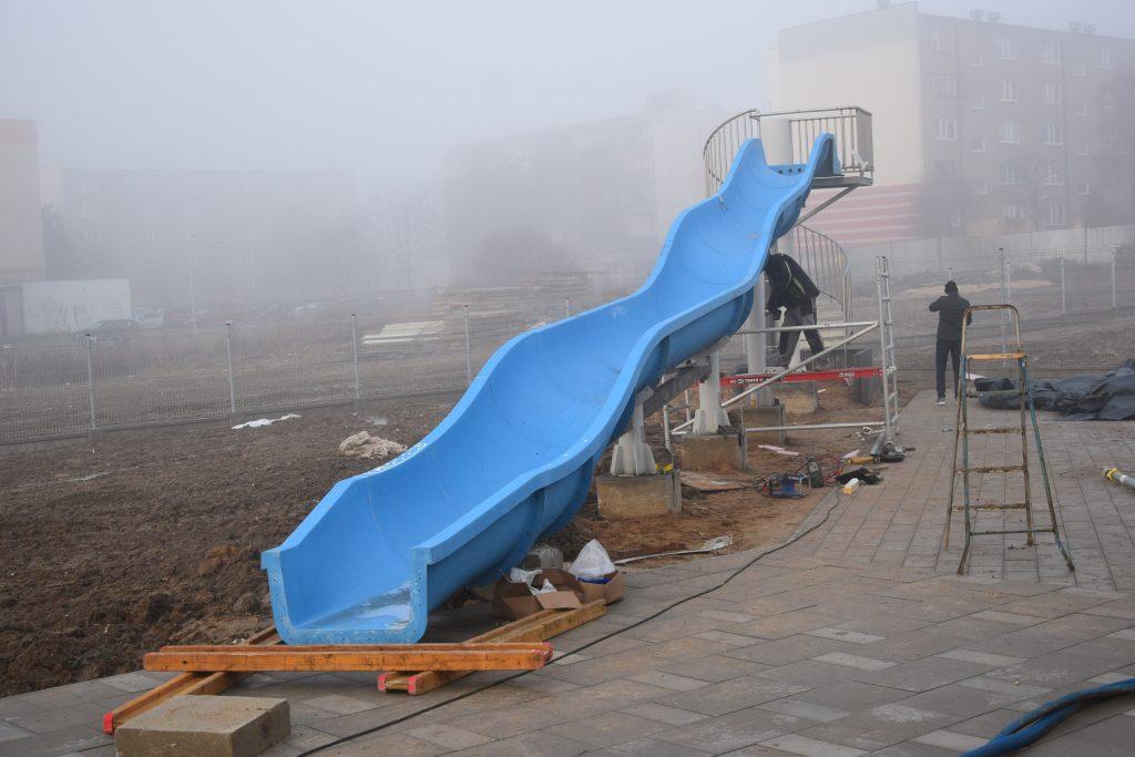 Poważne wady budowlane powodem braku odbioru końcowego basenu w Radomsku. 56