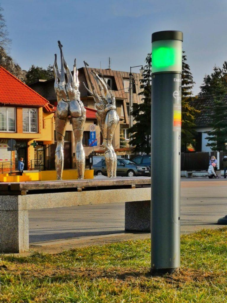W Olsztynie zamontowano EkoSłupki 5
