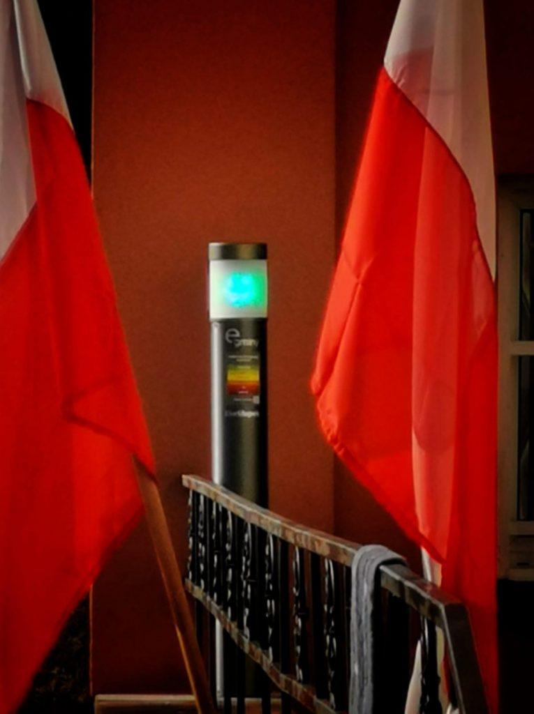 W Olsztynie zamontowano EkoSłupki 8