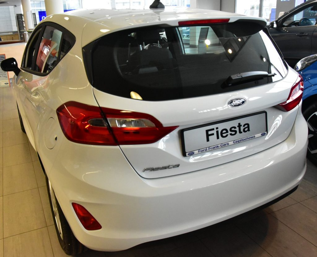 Ford Fiesta – radość z bezpiecznej i wygodnej jazdy 8