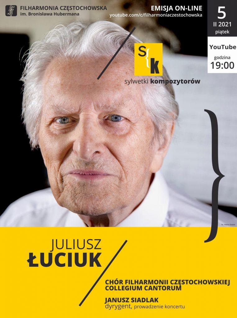 Juliusz Łuciuk bohaterem kolejnego koncertu Filharmonii Częstochowskiej 1