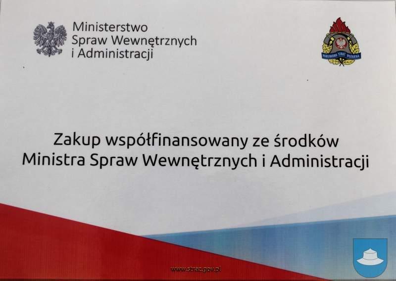 Strażacy z OSP Kłobuck i OSP Łobodno otrzymali nowy sprzęt 14