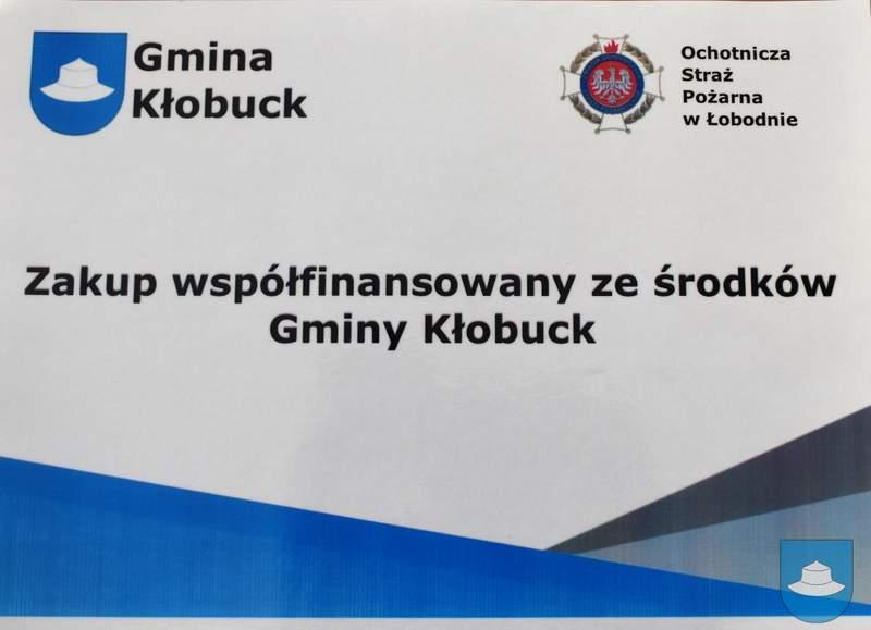 Strażacy z OSP Kłobuck i OSP Łobodno otrzymali nowy sprzęt 12