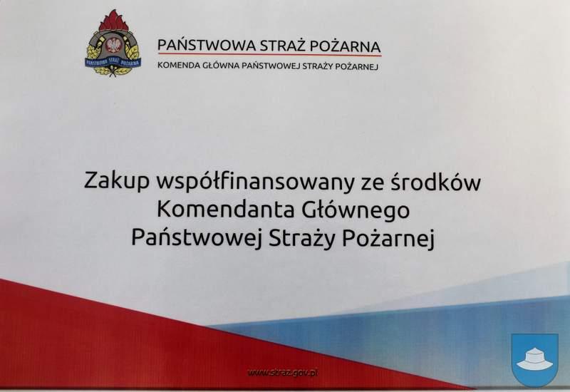 Strażacy z OSP Kłobuck i OSP Łobodno otrzymali nowy sprzęt 13