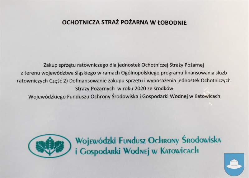 Strażacy z OSP Kłobuck i OSP Łobodno otrzymali nowy sprzęt 16