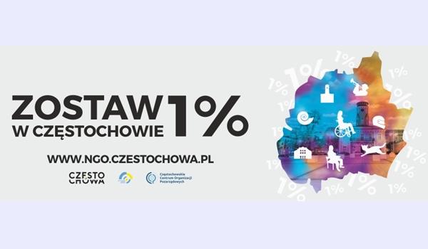 Zostaw swój 1 procent w Częstochowie – zachęca miasto 2