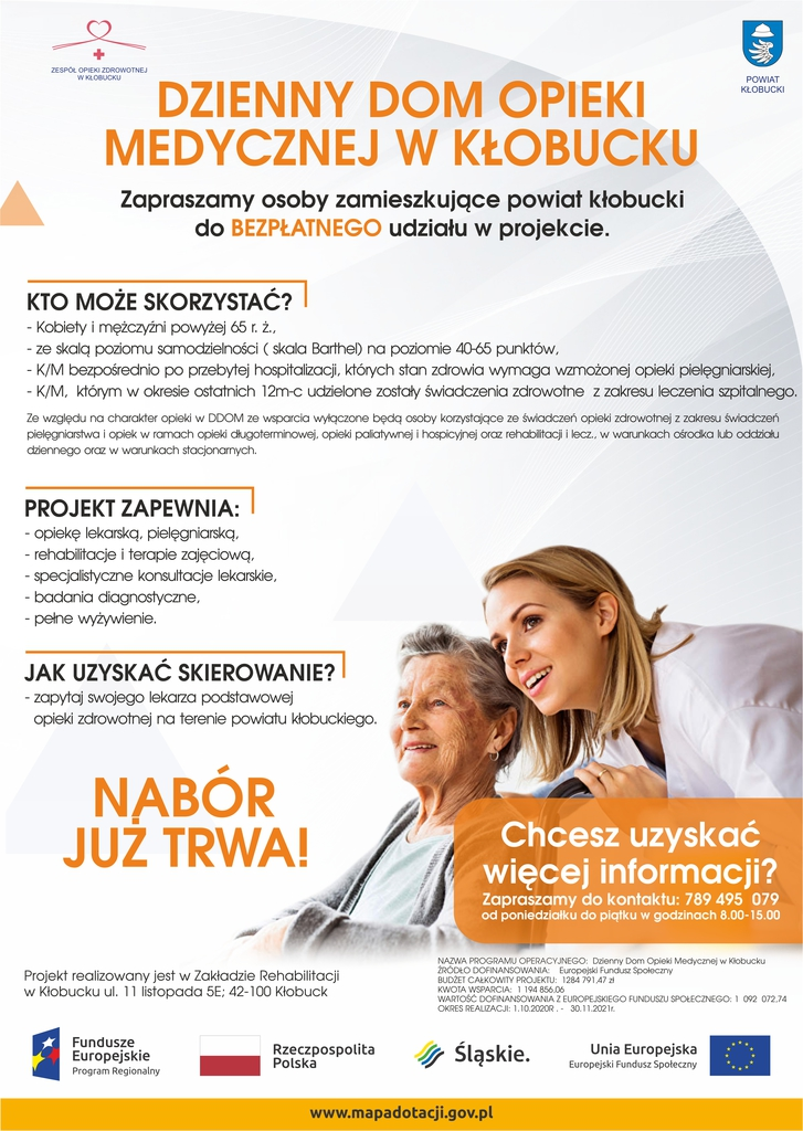 W Kłobucku otwarto Dzienny Dom Opieki Medycznej 11