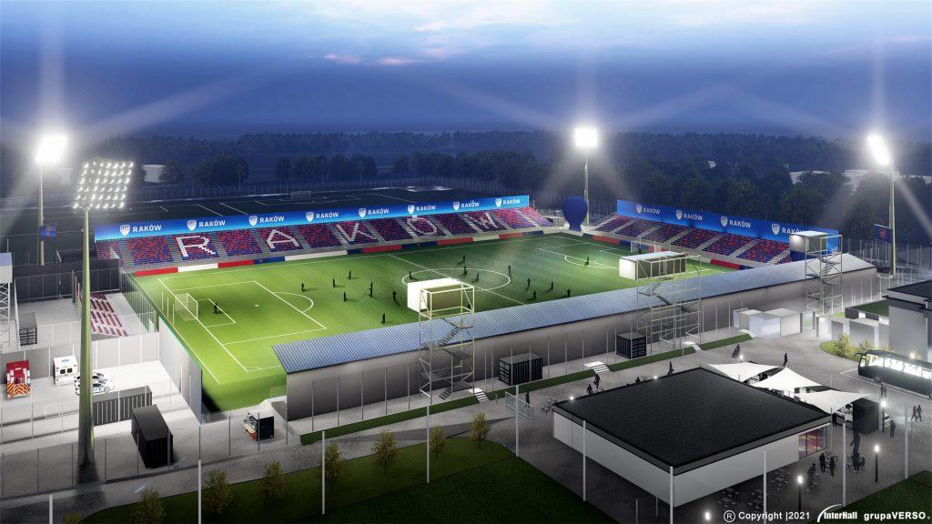 Zobacz, jak będzie wyglądał stadion Rakowa 1