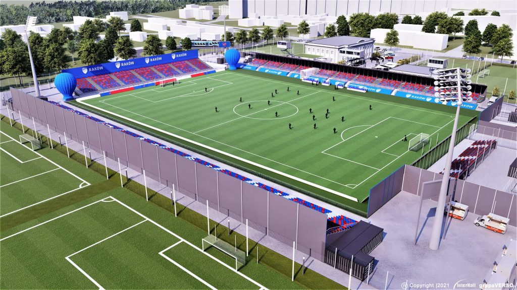 Zobacz, jak będzie wyglądał stadion Rakowa 2