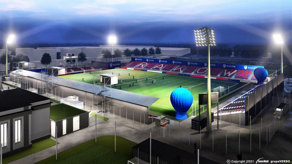Zobacz, jak będzie wyglądał stadion Rakowa 3
