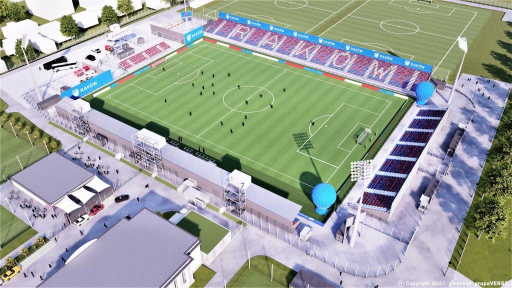 Zobacz, jak będzie wyglądał stadion Rakowa 4