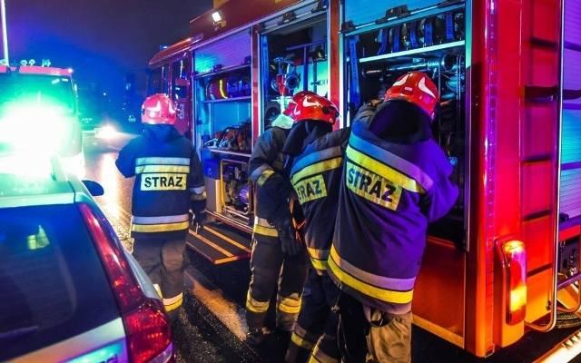 Pożar w Domu Pomocy Społecznej w Częstochowie 2