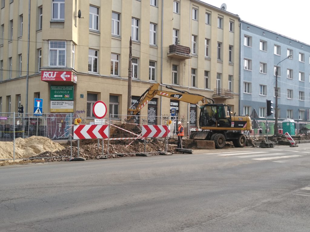 Zobacz, jak przebiega remont torowiska w Śródmieściu Częstochowy 13