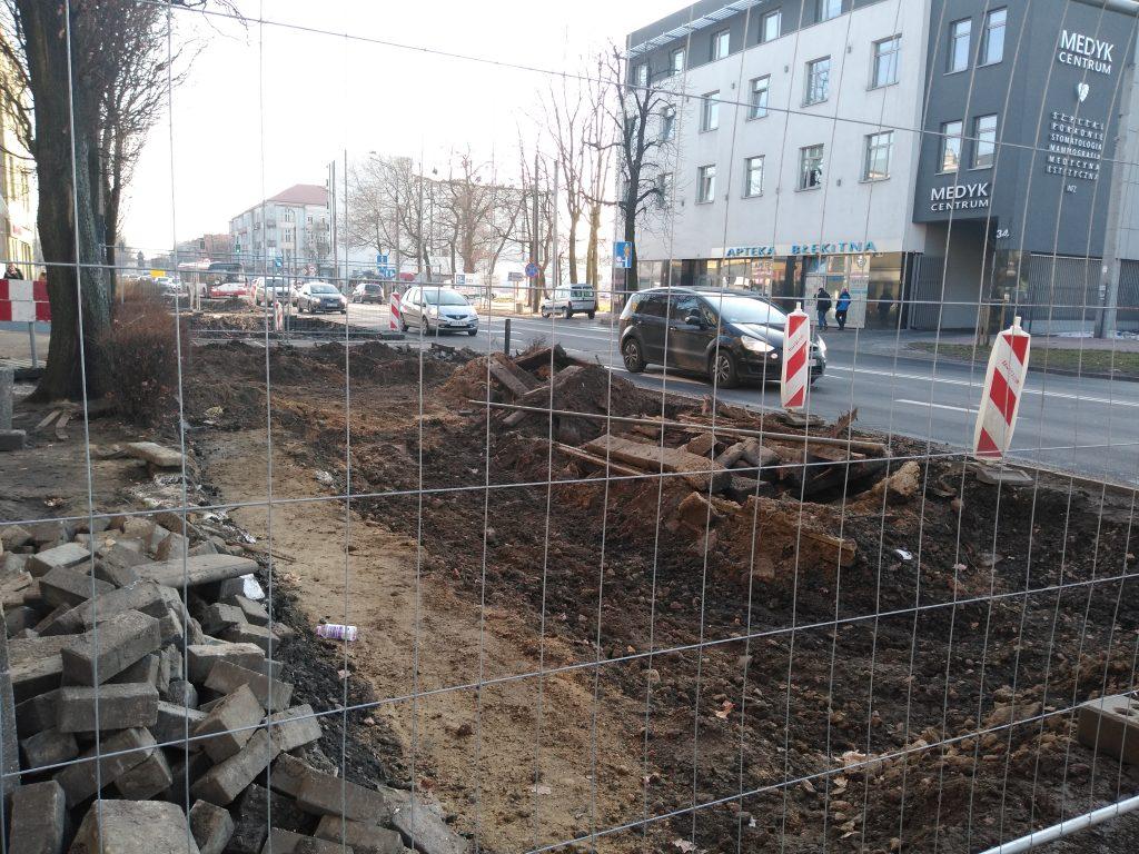 Zobacz, jak przebiega remont torowiska w Śródmieściu Częstochowy 2