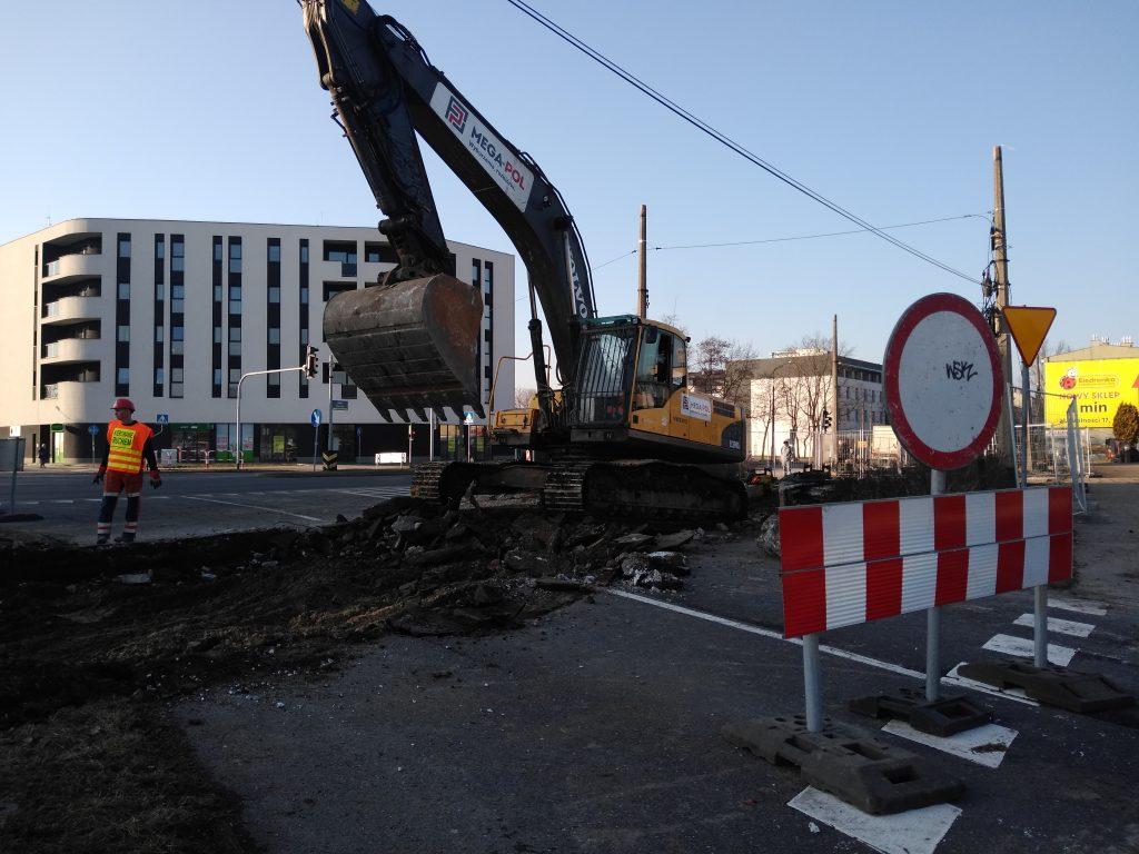 Zobacz, jak przebiega remont torowiska w Śródmieściu Częstochowy 4