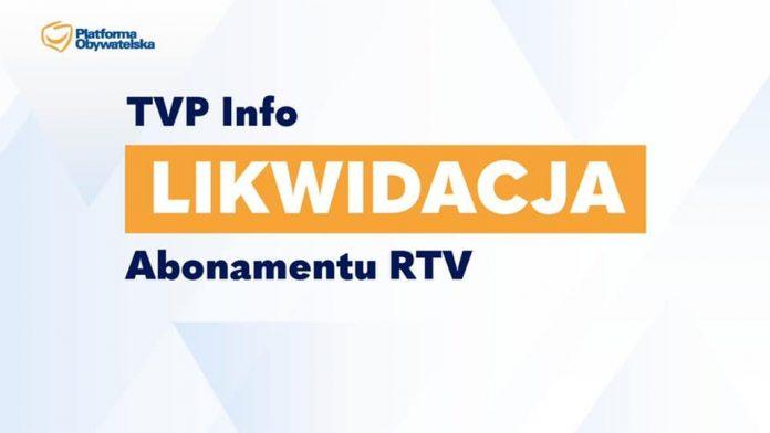 W Częstochowie zbierają podpisy za likwidacją TVPInfo oraz zniesieniem abonamentu RTV 2