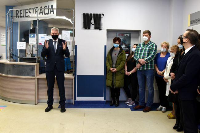 W szpitalu przy Mirowskiej uczcili pamięć zmarłej ordynator Dr Iwony Fijak 2