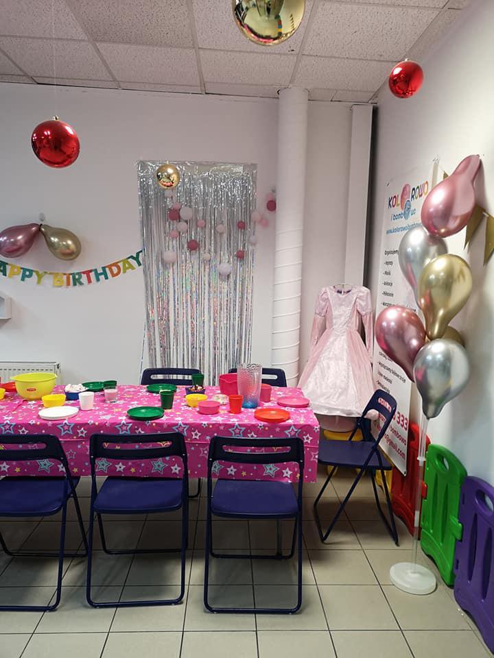 """Pomysł na """"Kolorowe urodzinki"""" 1"""