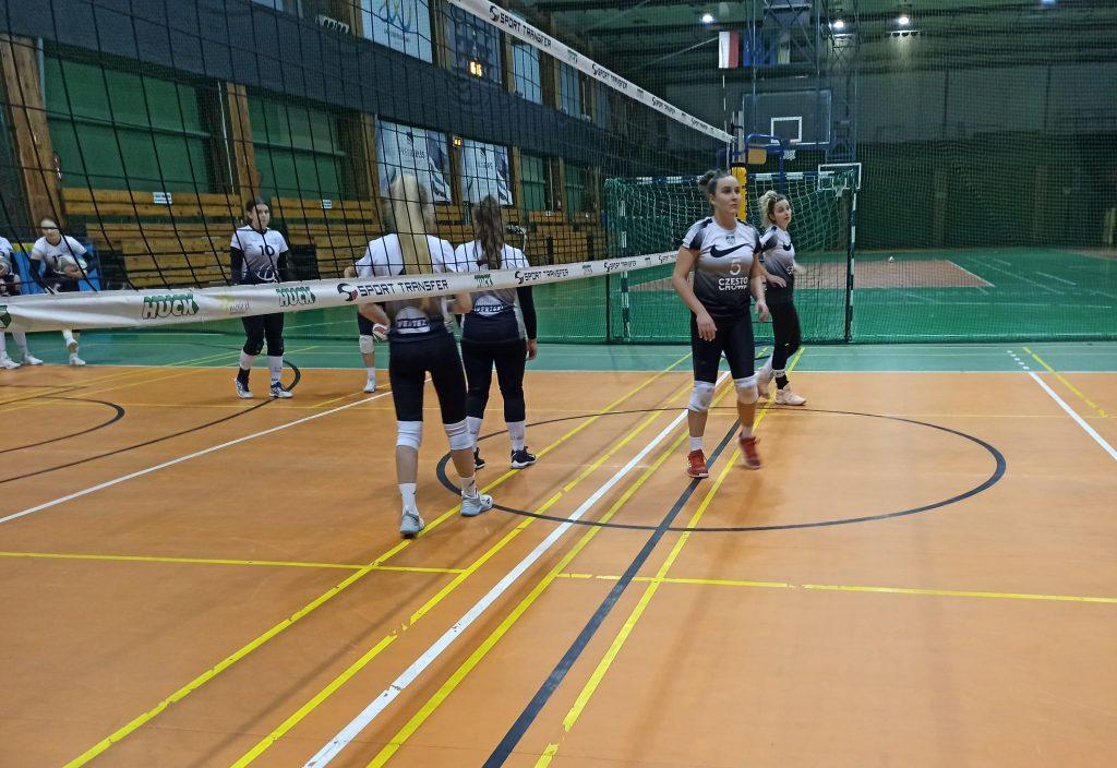 Siatkarki AZS Częstochowa łatwo wygrały pierwszy mecz półfinału play-off 5