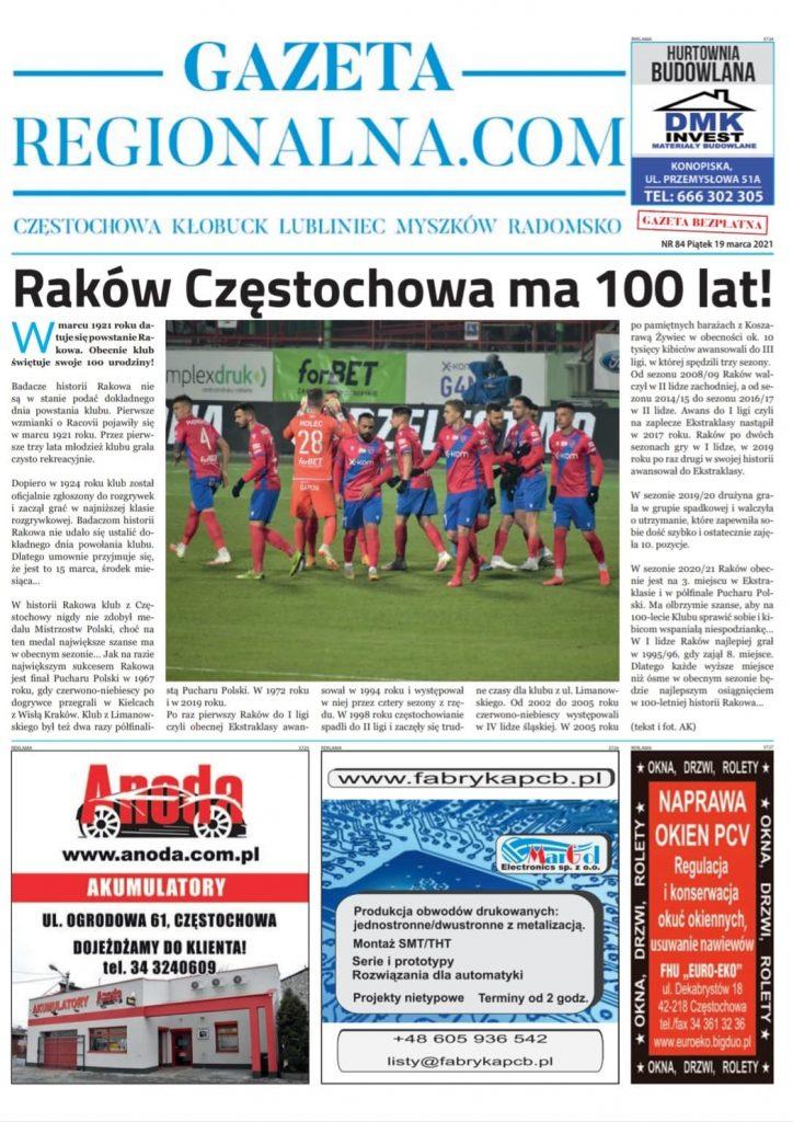 Raków Częstochowa ma 100 lat! 1