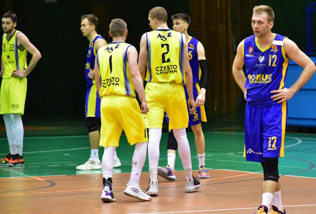 Wygrana koszykarzy AZS Politechniki z AZS AWF Katowice 3