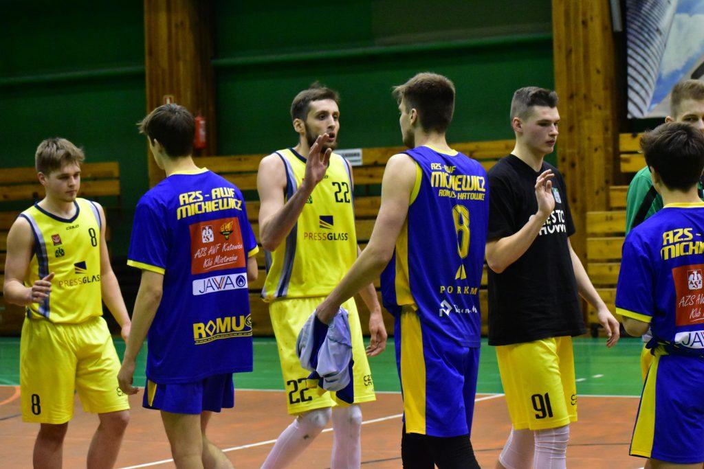 Wygrana koszykarzy AZS Politechniki z AZS AWF Katowice 5