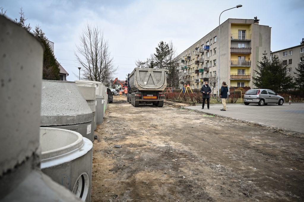 Na Tysiącleciu remontują ulice 1