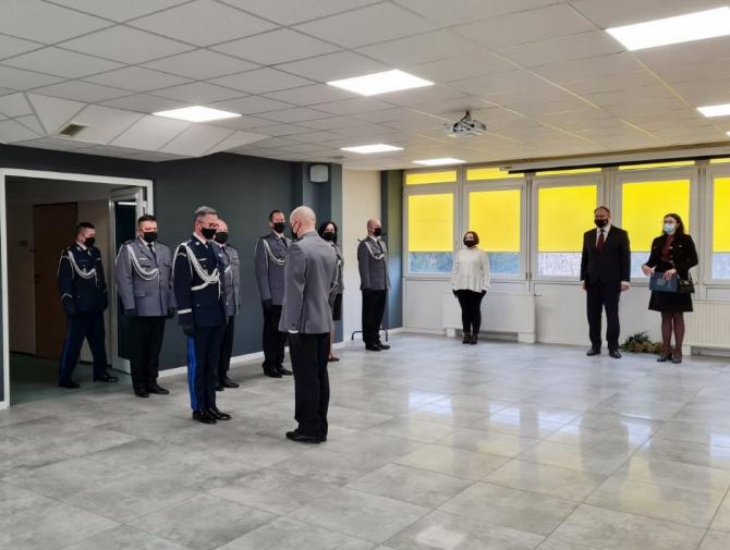 Nadkomisarz Robert Baryła nowym Komendantem Powiatowym Policji w Radomsku 1