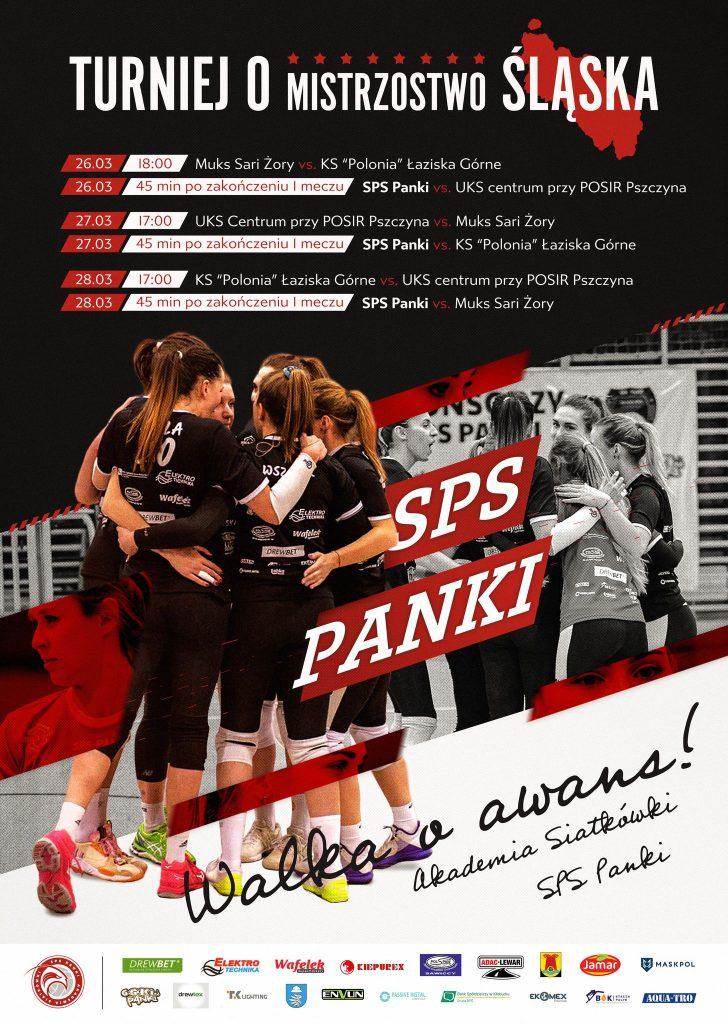 Akademia Siatkówki SPS Panki organizuje turniej finałowy o mistrzostwo 1 ligi kobiet i awans 1