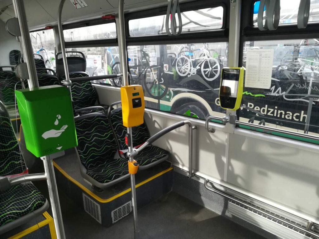 W rędzińskich autobusach zamontowano biletomaty 1