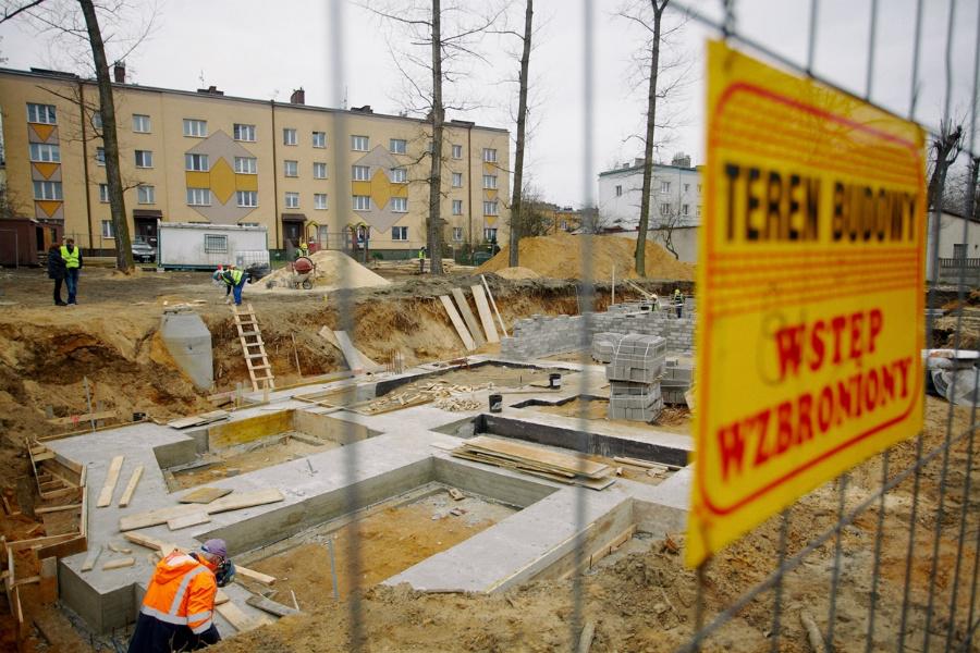 Na Rakowie rozpoczęła się budowa bloku komunalnego 4
