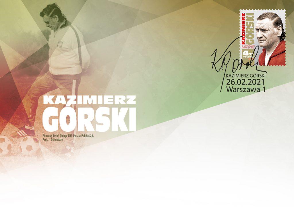 Legendarny trener polskich piłkarzy doczekał się swojego znaczka 1