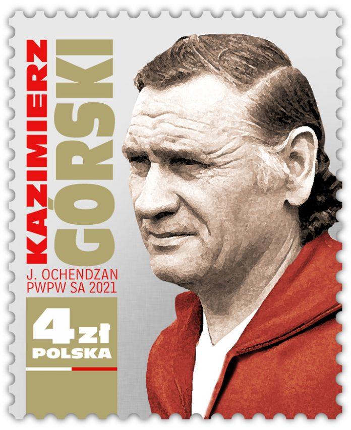 Legendarny trener polskich piłkarzy doczekał się swojego znaczka 3